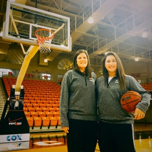 Co-Founders of The Coaching Assist: Megan Lueck (pictured left) and Kaitlyn Cresencia (pictured right)